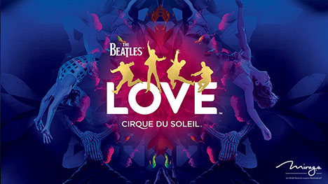 "The beatles ""Love"" show image"