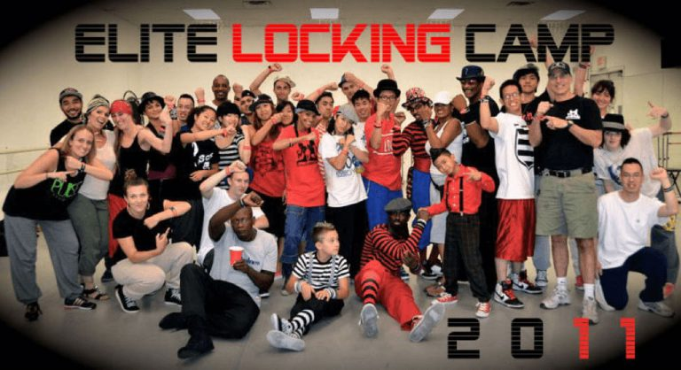 Elite locking camp group picture