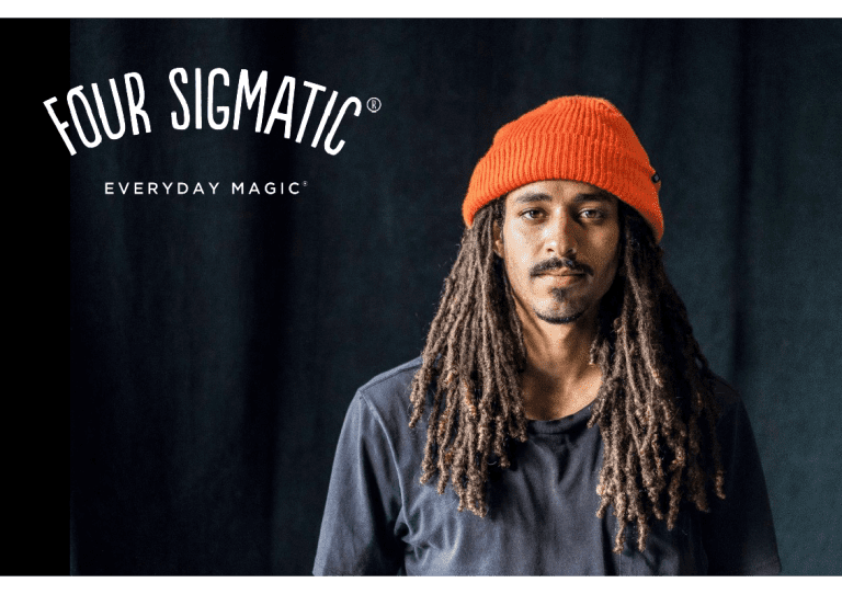 Professional Skateboarder Jessy Jean Bart for Four Sigmatic